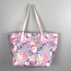 Tommy Bahama tote floral pink